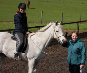 Val Main, classical riding instructor